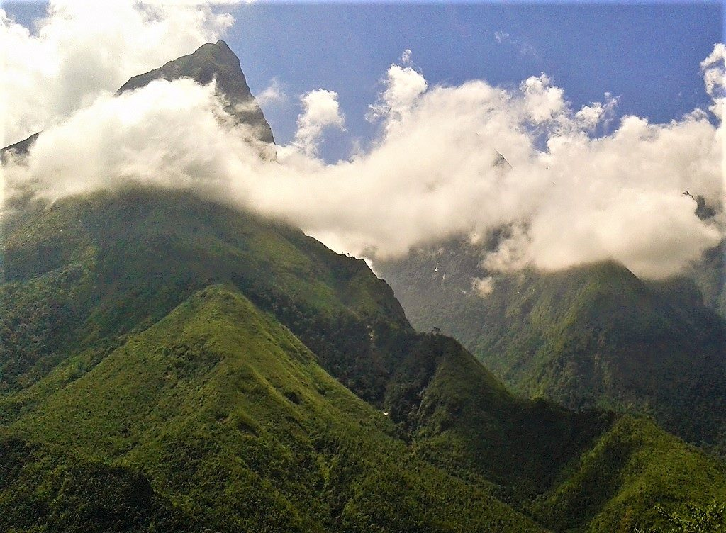 Fansipan mountain, Vietnam