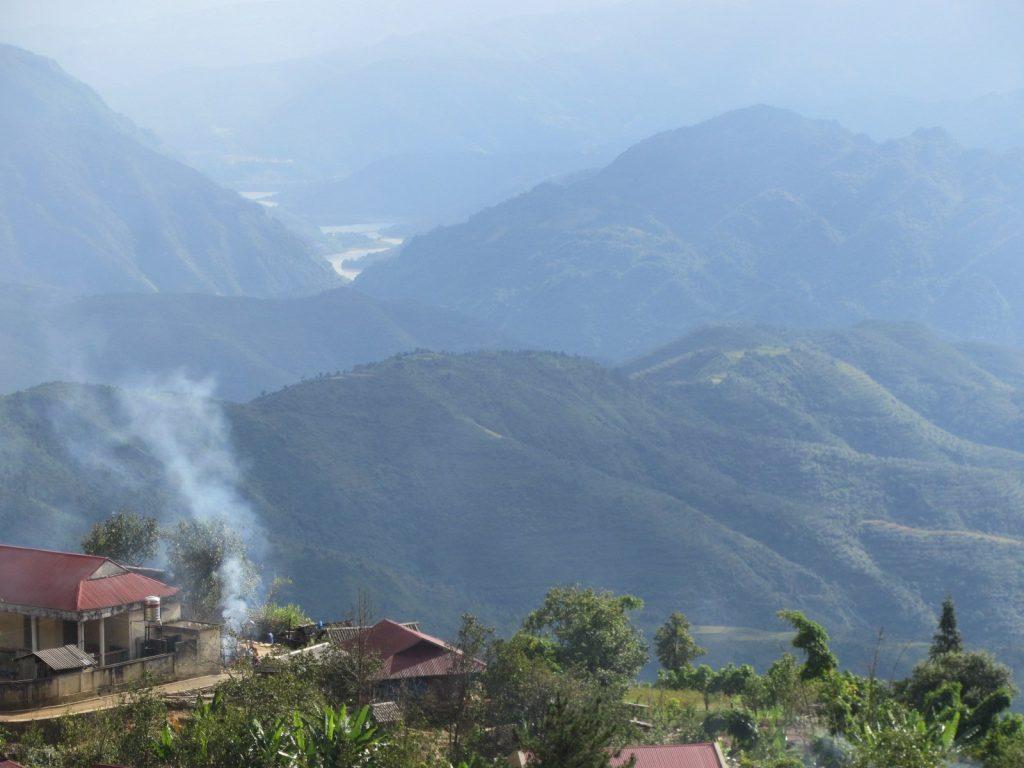 Mountain landscape, Dien Bien Province, northwest Vietnam
