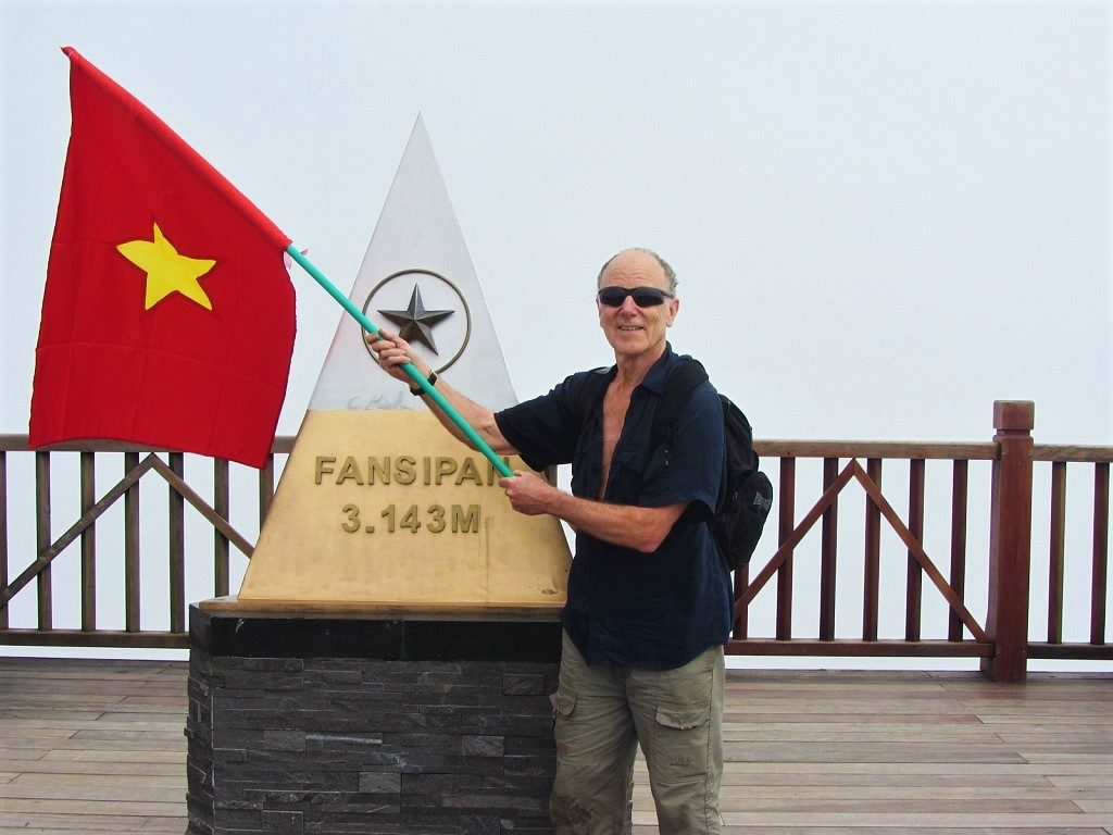 Fanispan mountain summit, Vietnam