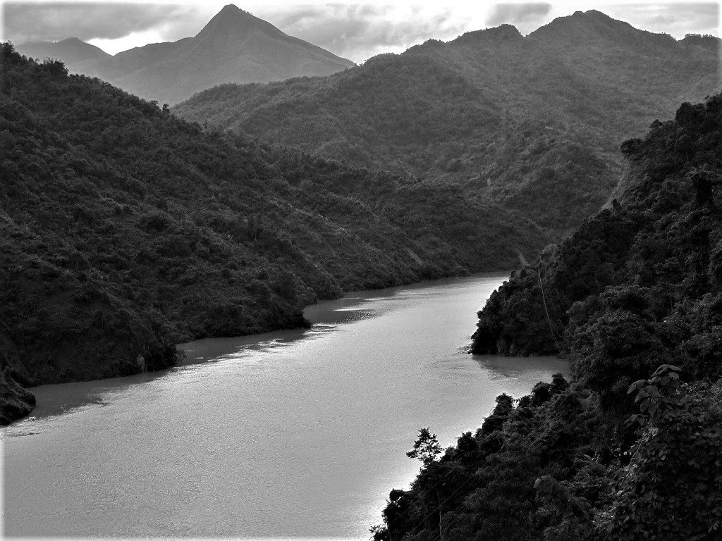 The Black River, Lai Chau Province, Northwest Vietnam