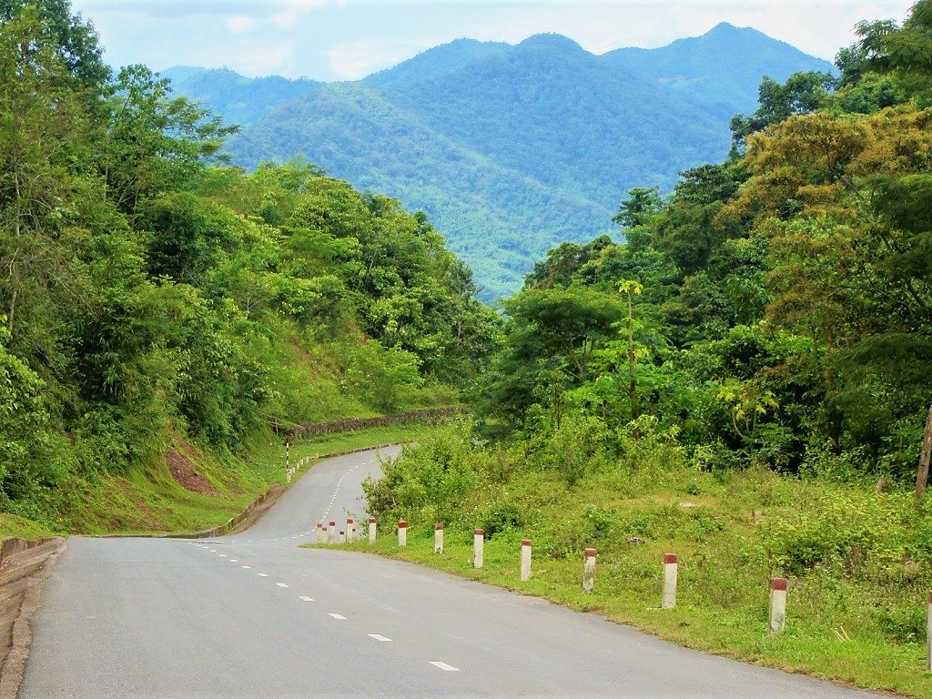 The road to the Extreme Northwest, Dien Bien Province, Vietnam