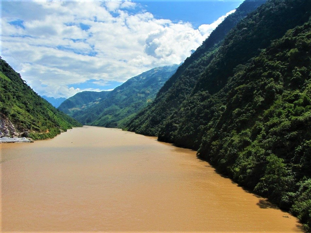 The Black River, Dien Bien Province, northwest Vietnam