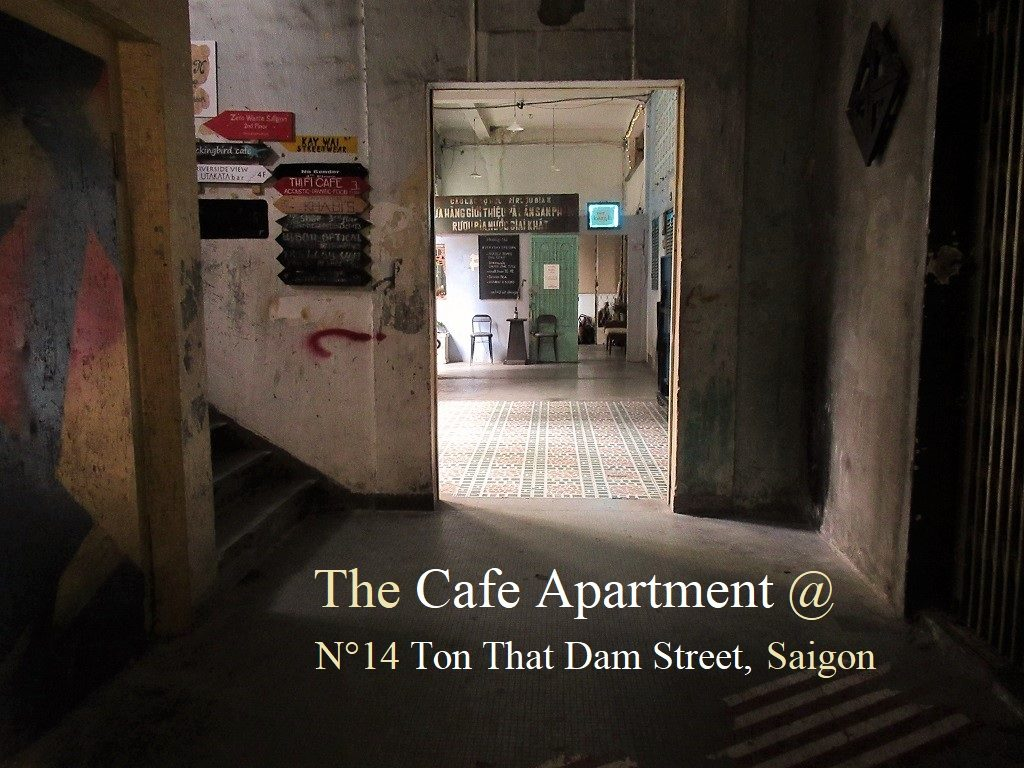 The Cafe Apartment at 14 Ton That Dam Street, Saigon, Ho Chi Minh City, Vietnam