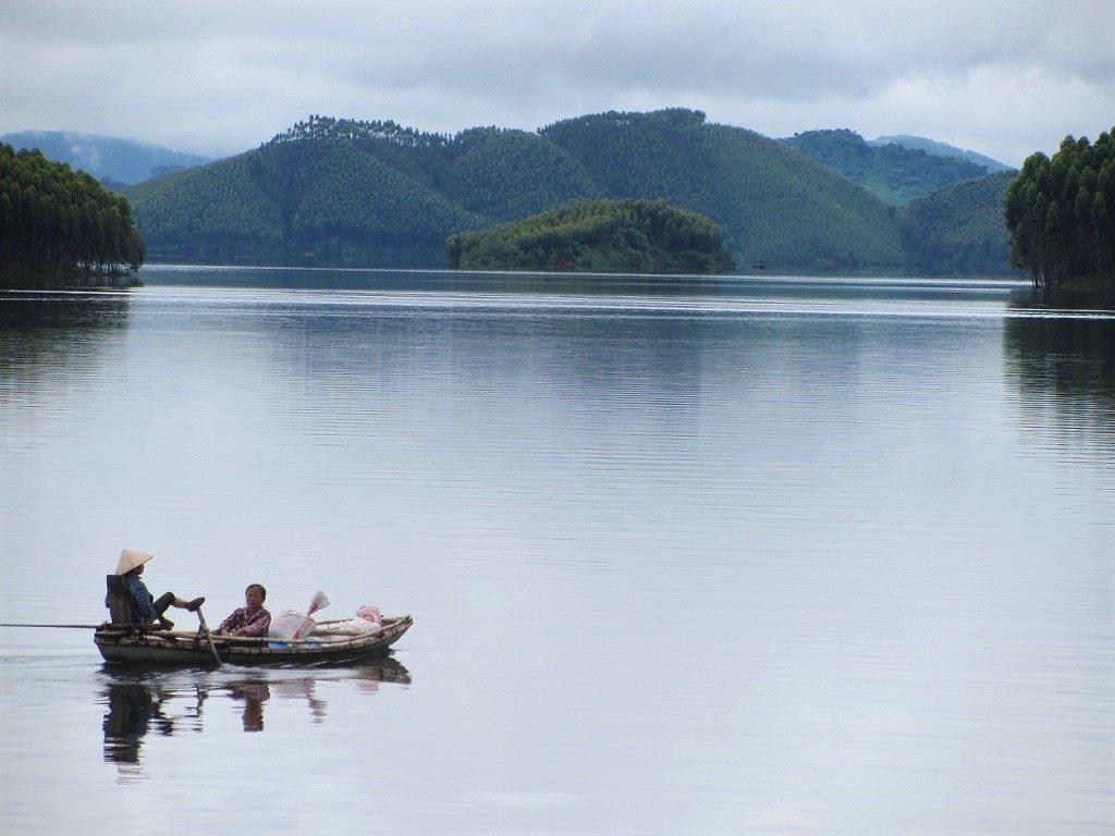 Thac Ba Lake, Vu Linh, Yen Bai Province, Vietnam