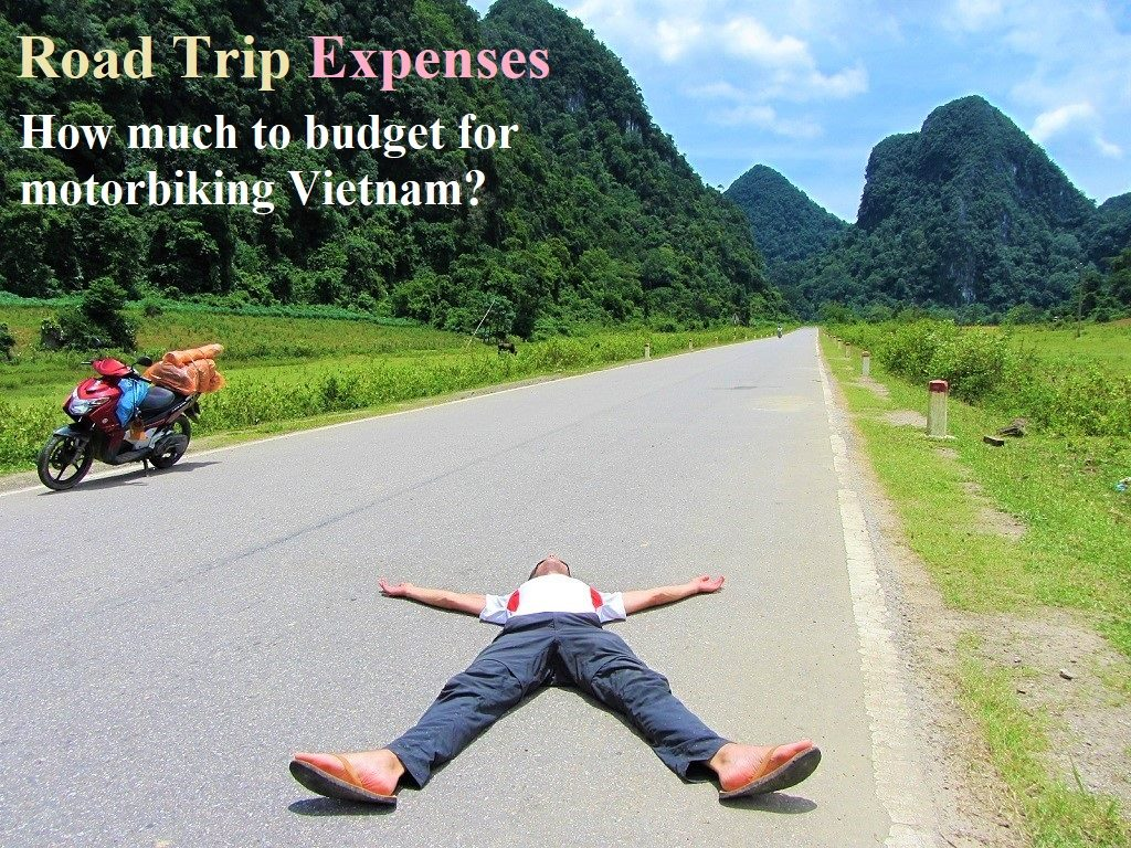 Guide to expenses for a motorbike road trip in Vietnam