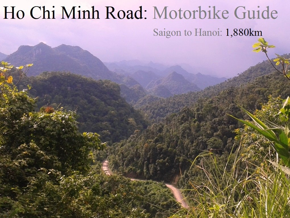 The Ho Chi Minh Road by Motorbike, Vietnam