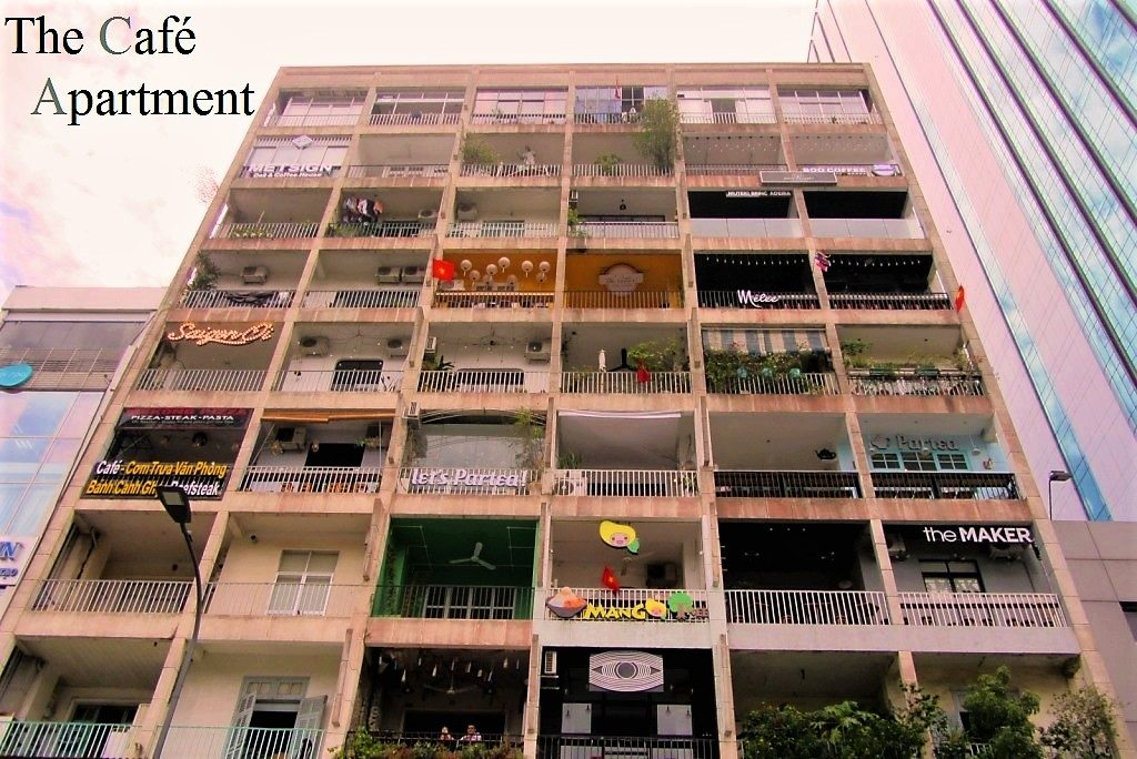 The Cafe Apartment at 42 Nguyen Hue Street, Saigon
