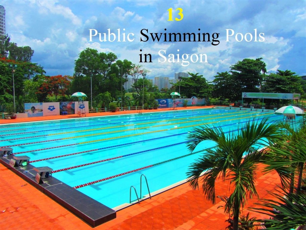 Public swimming pools in Saigon, Vietnam