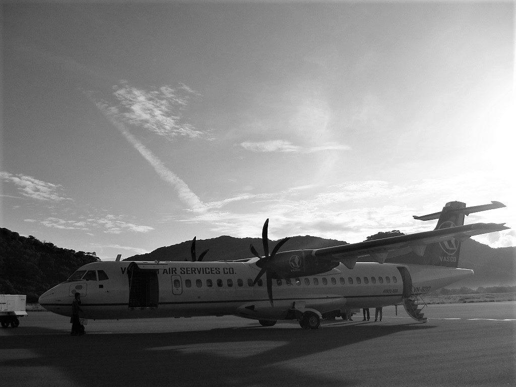 Propeller flight between Saigon & Rach Gia