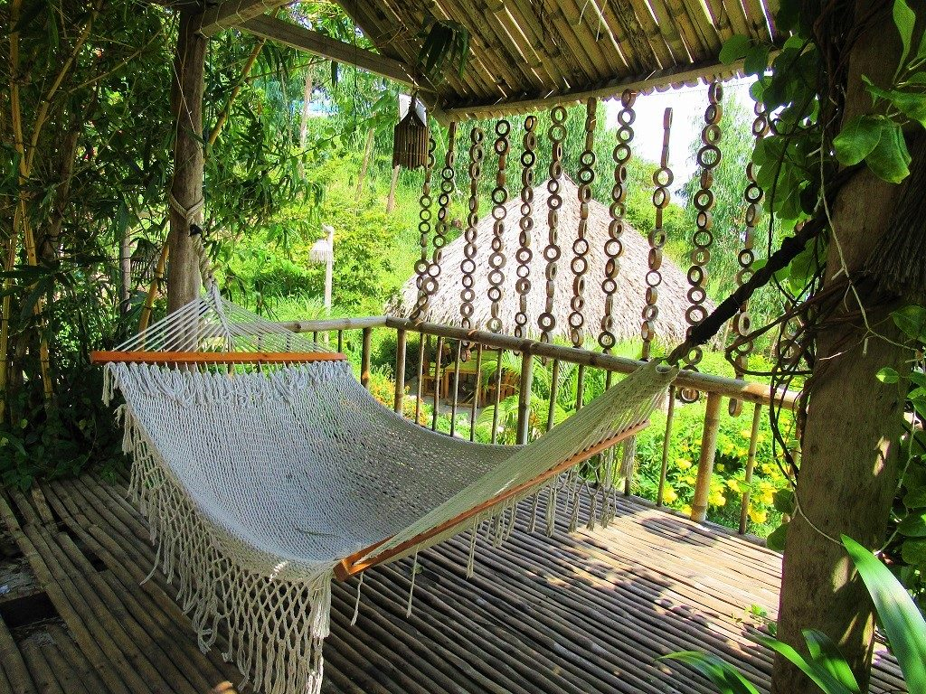 A hammock at Humiso resort, Nam Du Islands, Vietanm