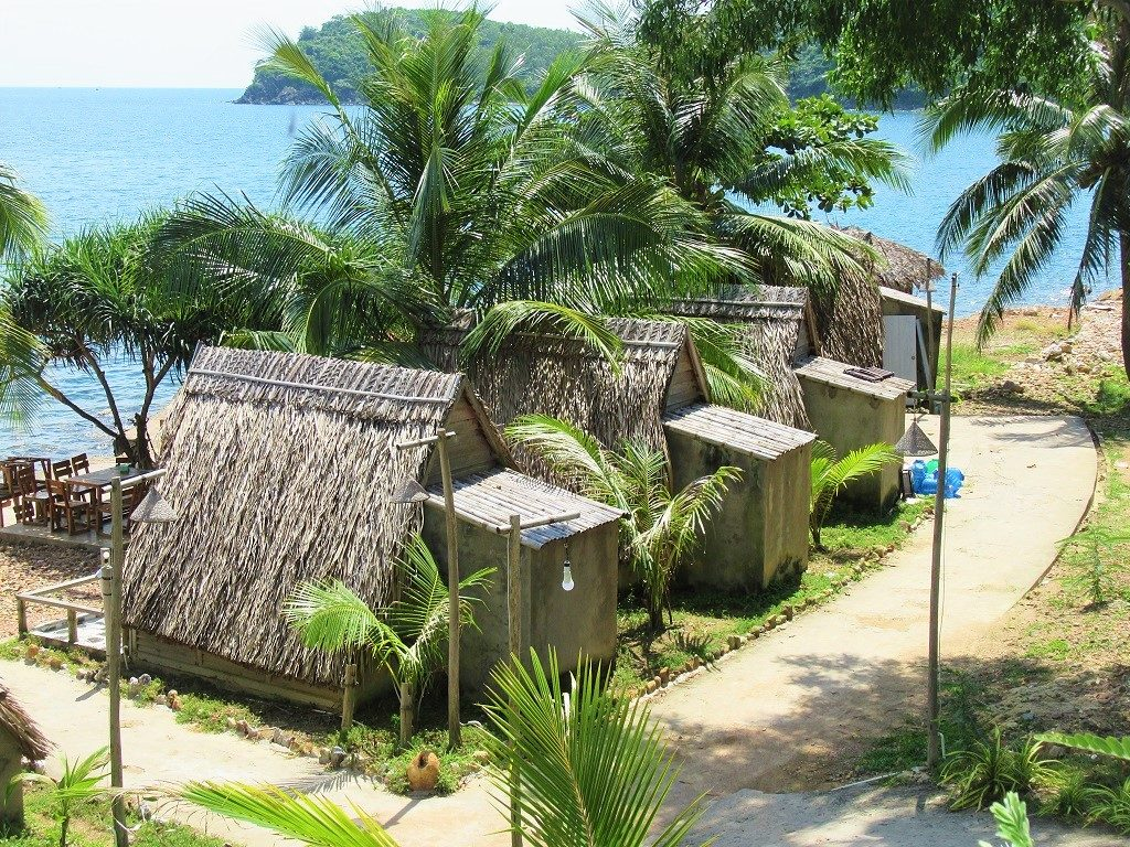 Accommodation on Nam Du Island, Vietnam (Humiso Resort)