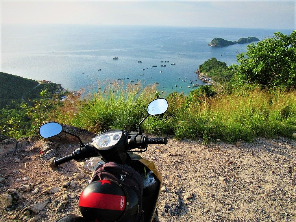 Travelling around the Nam Du Islands, Vietnam
