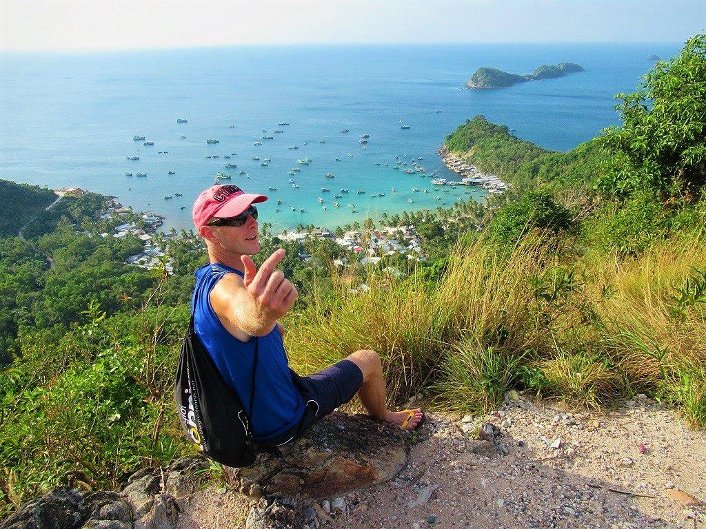 Nam Du Island viewing point, Vietnam