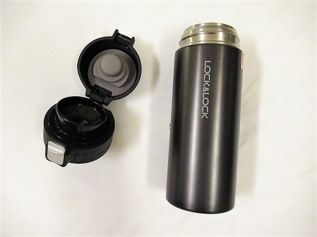 Reusable thermos flask