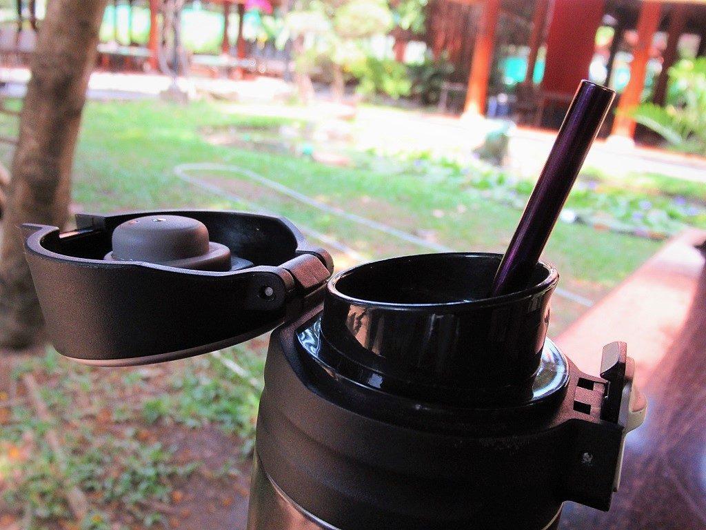 My reusable metal straw
