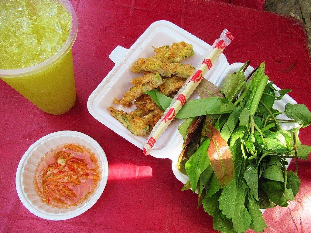 Street food, Hon Son Island, Vietnam