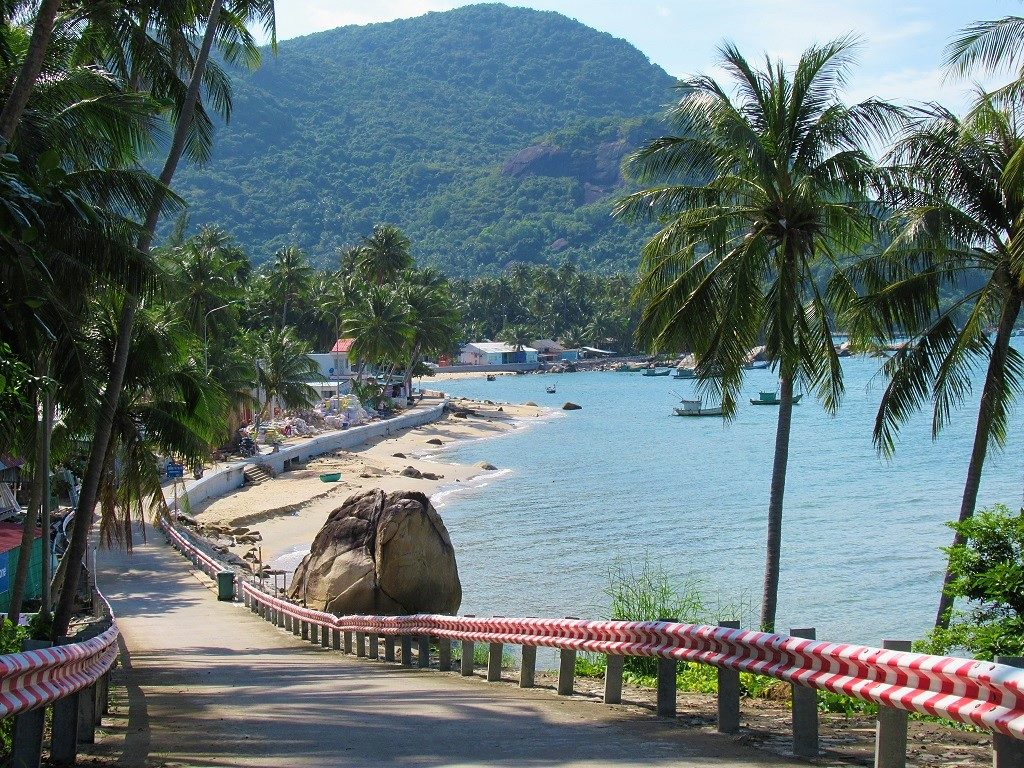 View from Beach House Guest House, Hon Son Island, Vietnam