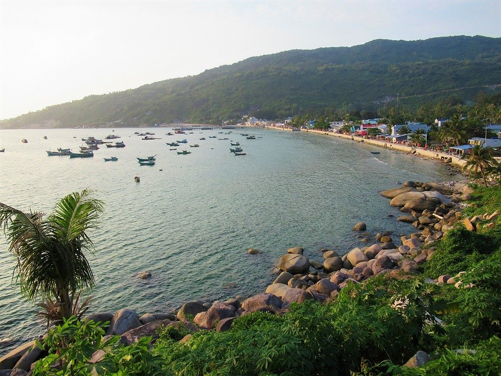 The harbourfront, Lai Son, Hon Son Island, Vietnam