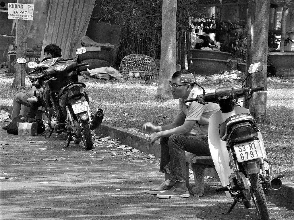 Sketches of Saigon, Ho Chi Minh City, Vietnam