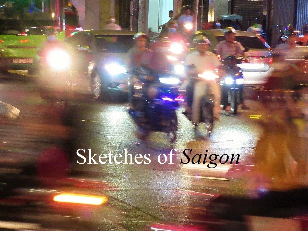 Sketches of Saigon, Ho Chi Minh City, Vietnam