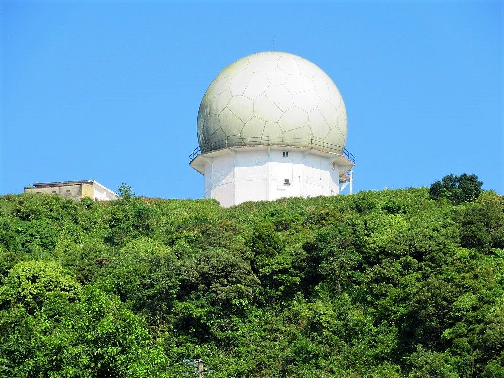 Military radar, Son Tra Peninsular, Danang, Vietnam