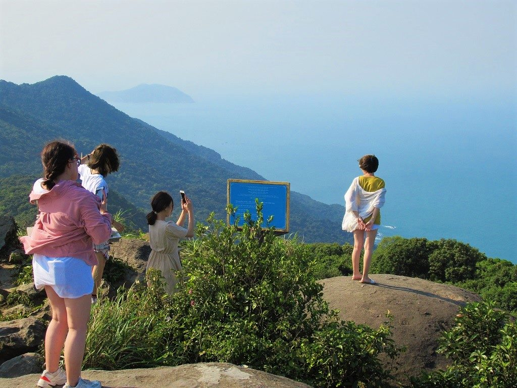 Son Tra Peninsular has many viewing points, Danang, Vietnam