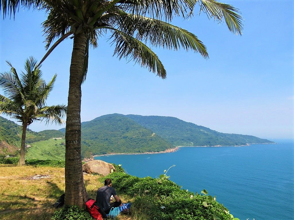 View from Mui Sung, Son Tra Peninsular, Danang, Vietnam