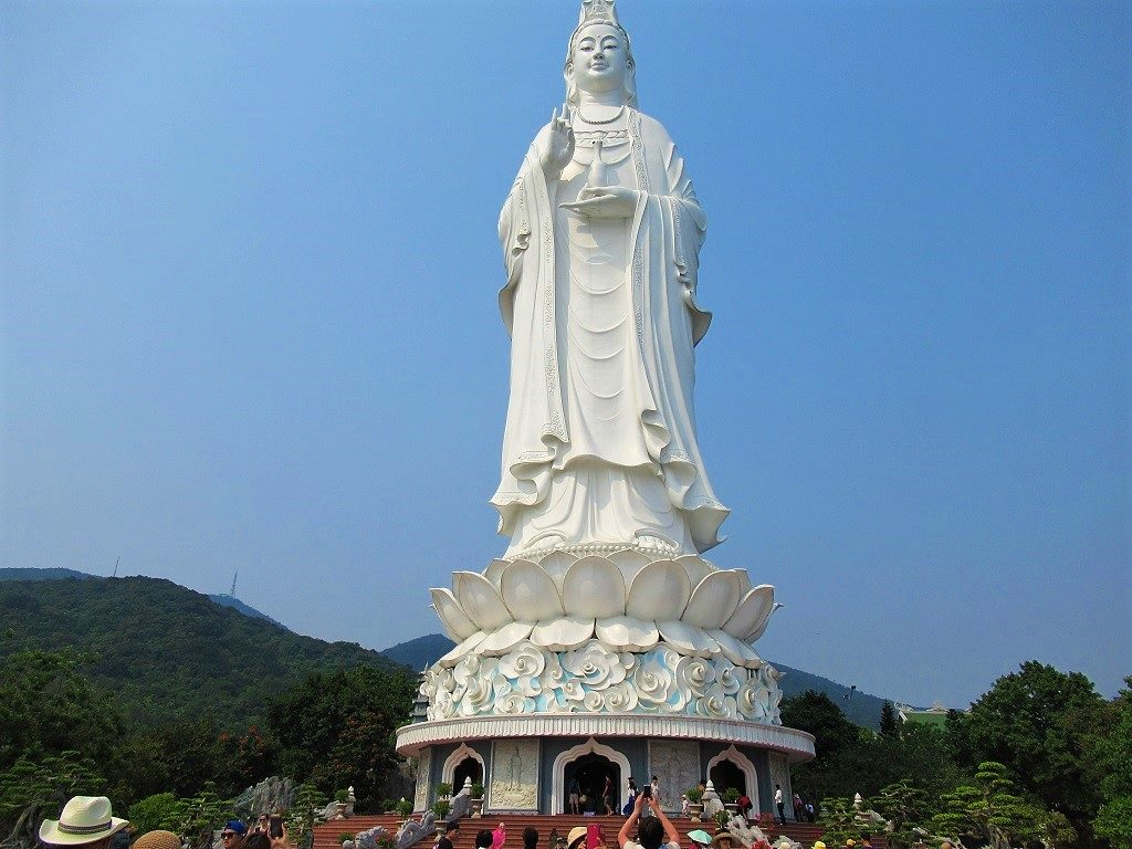 Colossal statue of Ba Quan Am, Goddess of Mercy, Son Tra, Danang