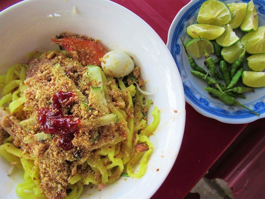 Mì quảng noodles, Ly Son Island, Quang Ngai Province, Vietnam