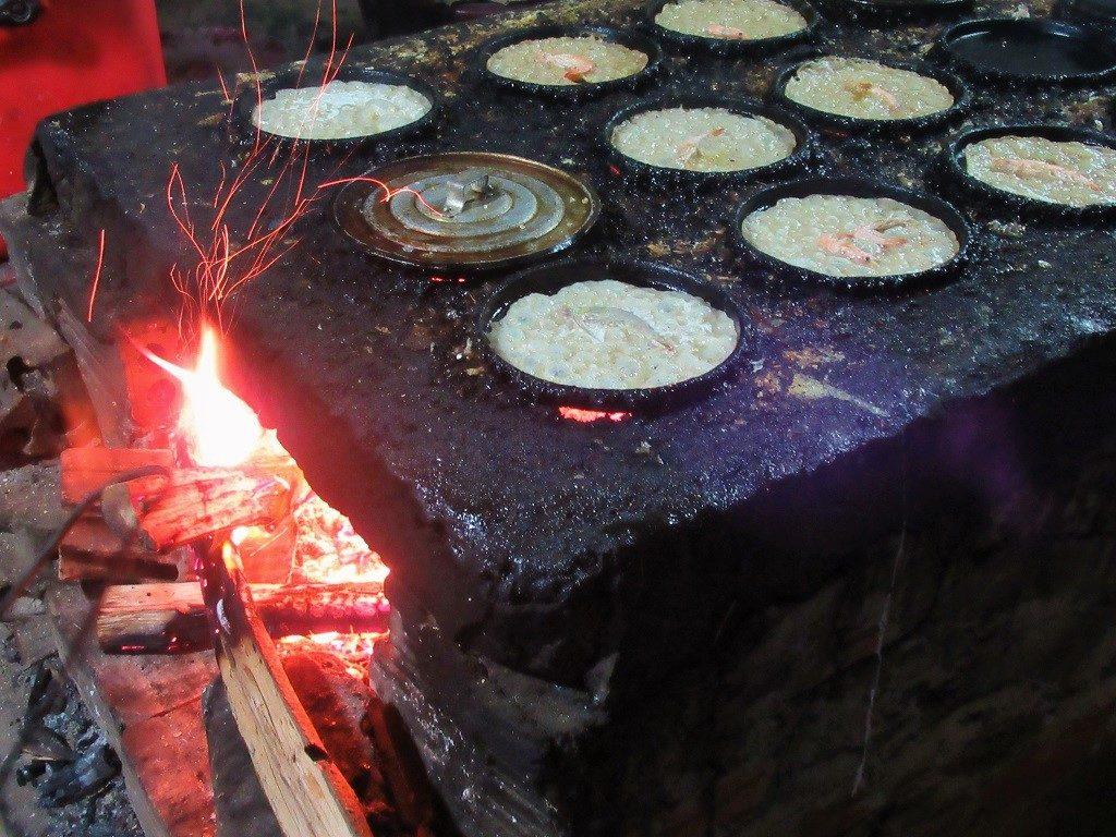Bánh xèo pancakes, Ly Son Islands, Vietnam