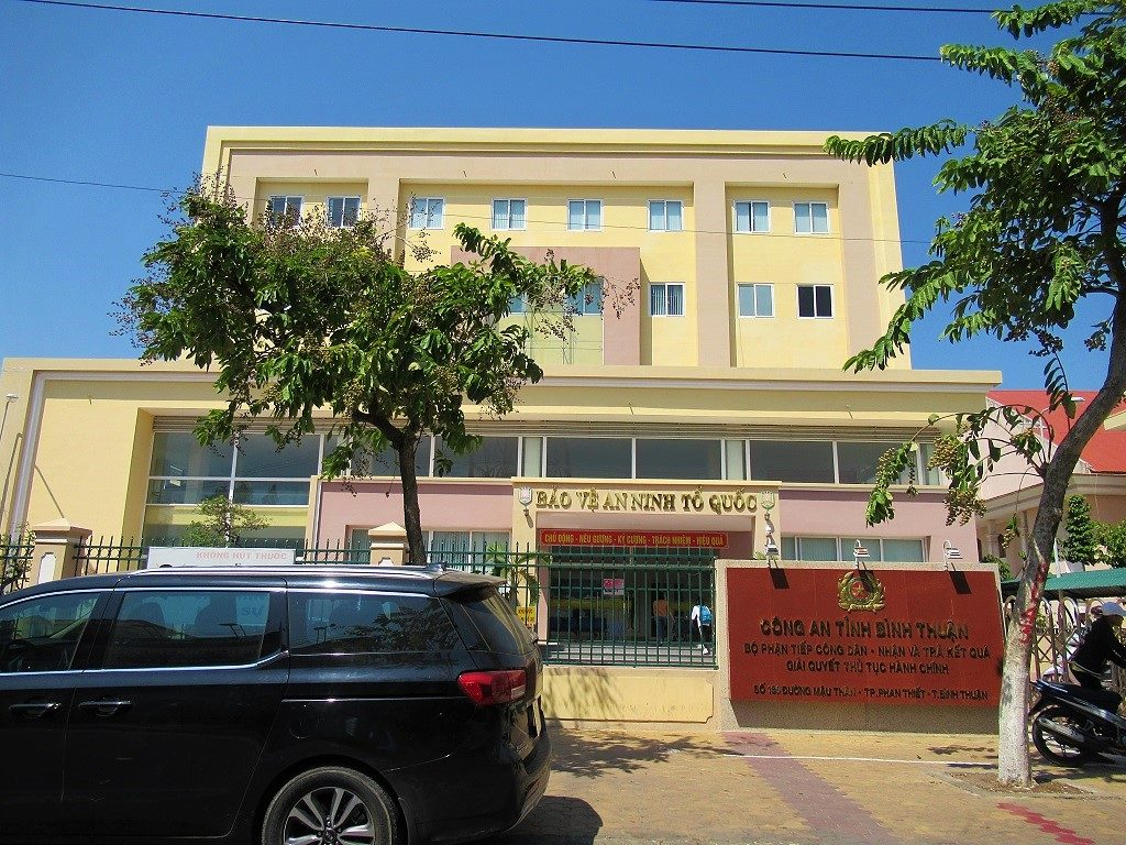 The provincial government office in Phan Thiet