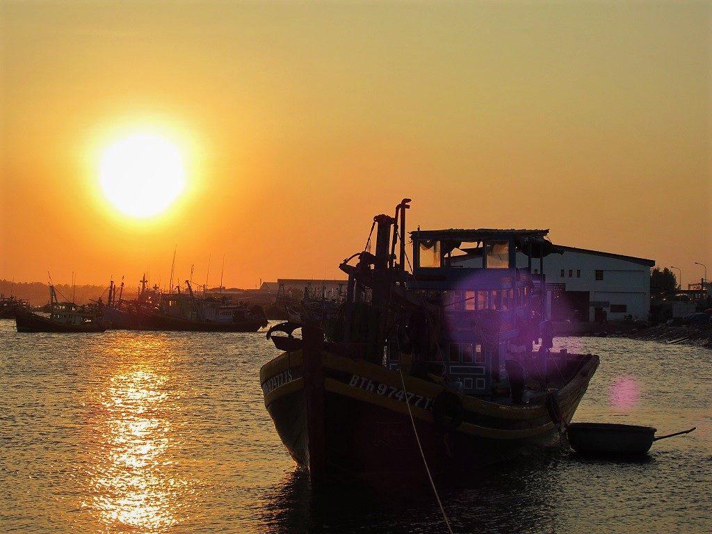 Phan Thiet Port, Binh Thuan Province, Vietnam