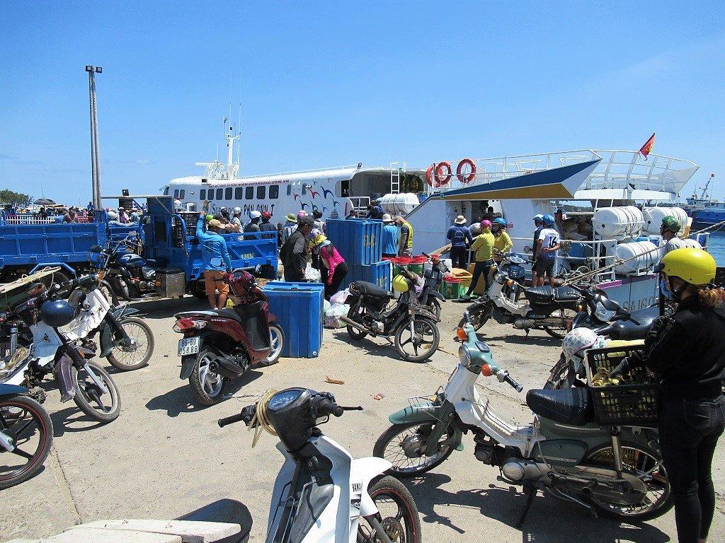 Phu Quy Island port, Vietnam