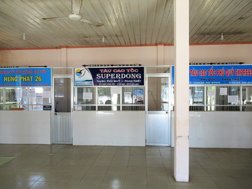 Boat ticket office, Phuy Quy Island