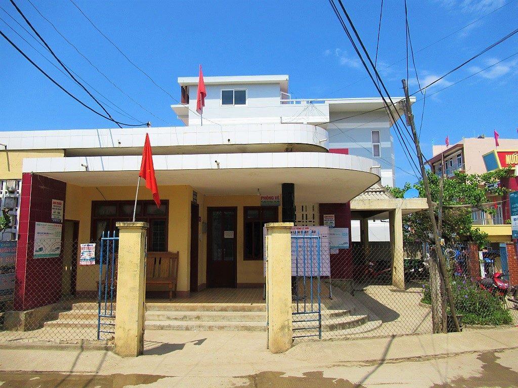 Ly Son Island fast boat passenger ticket office, Vietnam