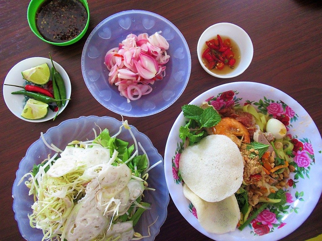 Local noodles, Tam Hai Island, Vietnam
