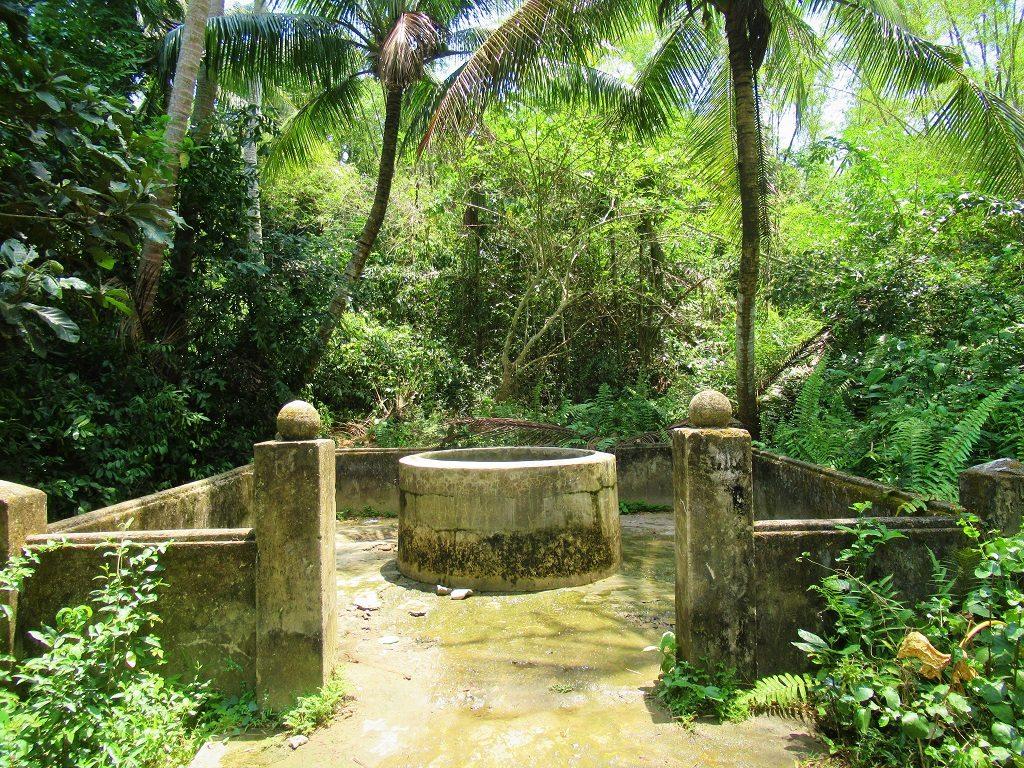 Freshwater well, Tam Hai Island, Quang Nam Province, Vietnam