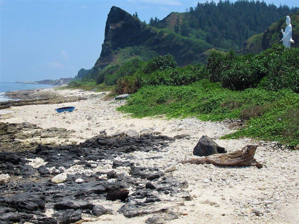 Chua Duc Beach, Ly Son Island, Vietnam