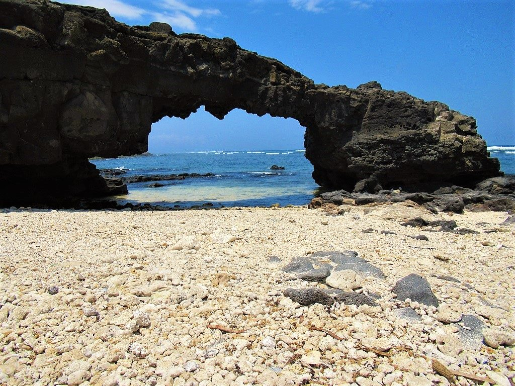 To Vo Rock Arch, Ly Son Island, Vietnam