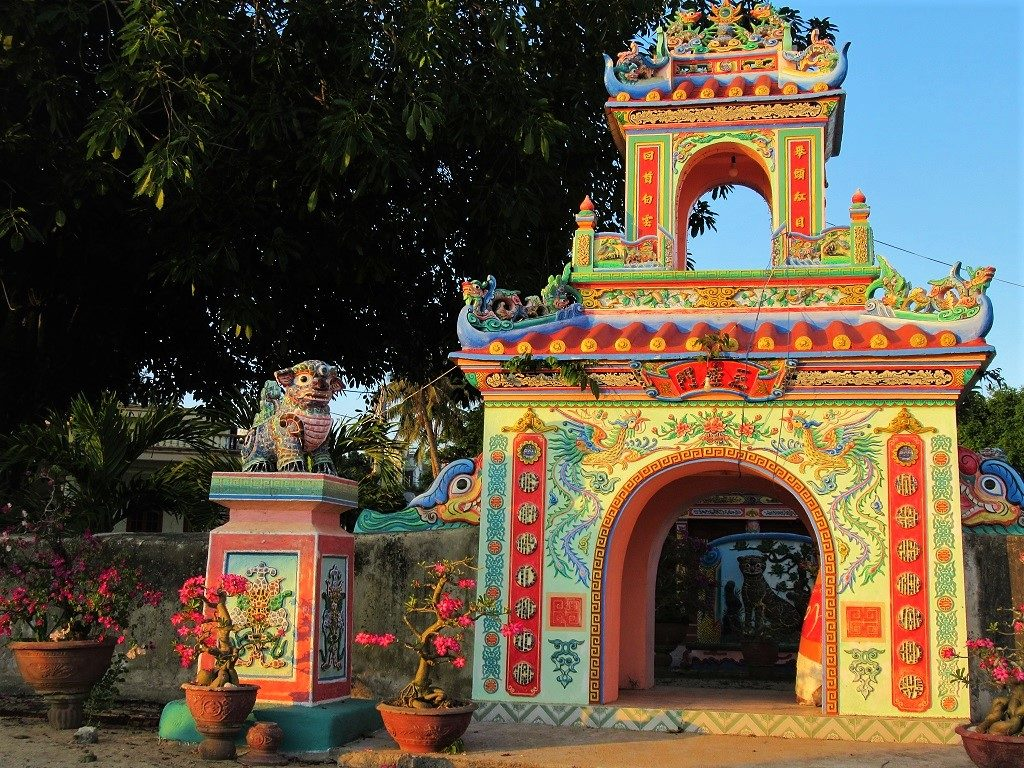 Temples on Ly Son Island, Quang Ngai Province, Vietnam