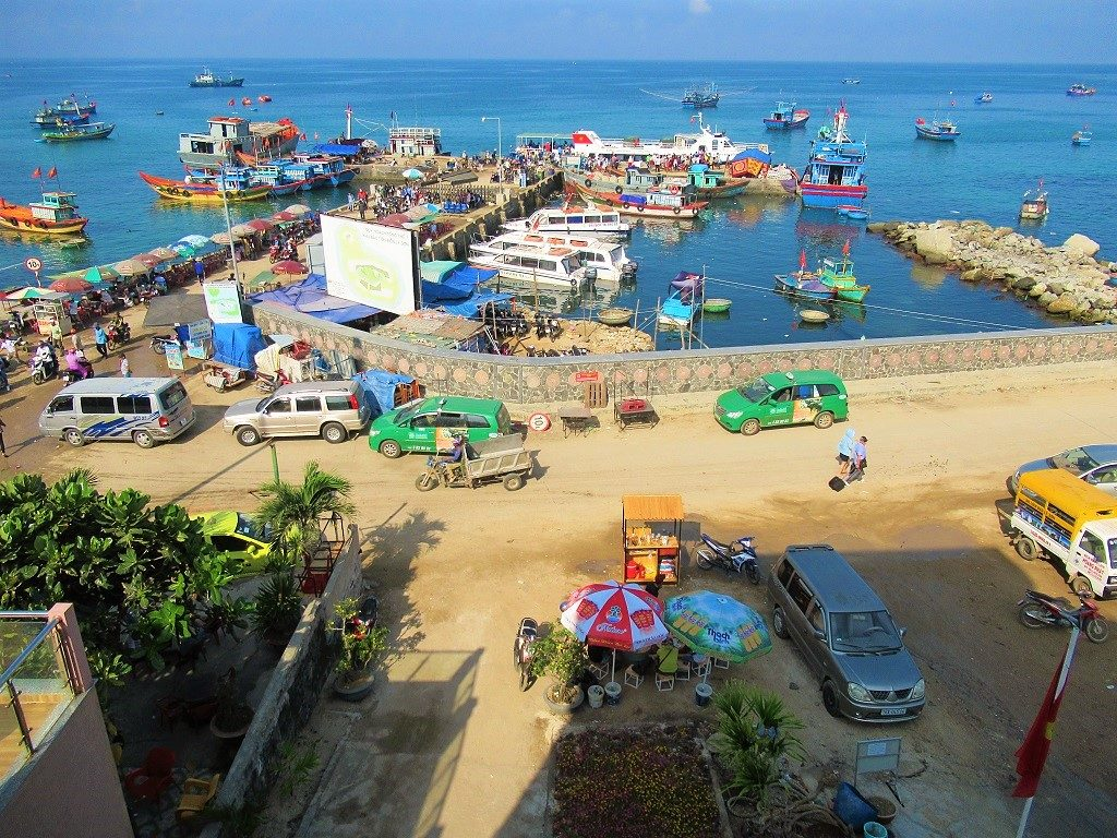 The port at Thong Tay village, An Vinh Commune, Ly Son Island