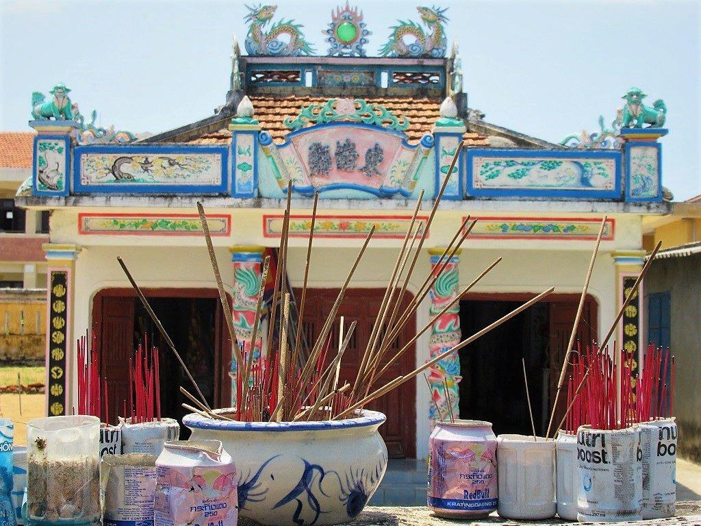 Whale temple, Ly Son Island, Quang Ngai Province, Vietnam