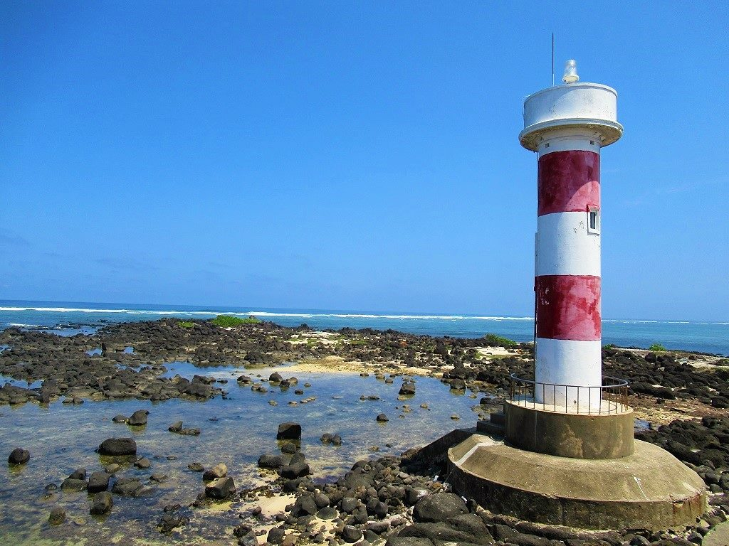 Mu Cu Lighthouse, Ly Son Island, Vietnam