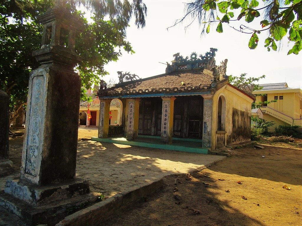 Old temple, Ly Son Island, Vietnam