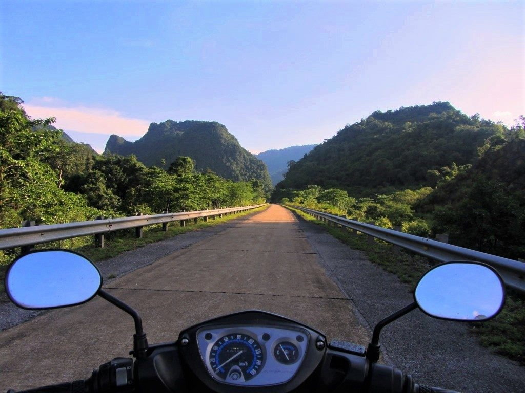 Riding the Western Ho Chi Minh Road, Vietnam