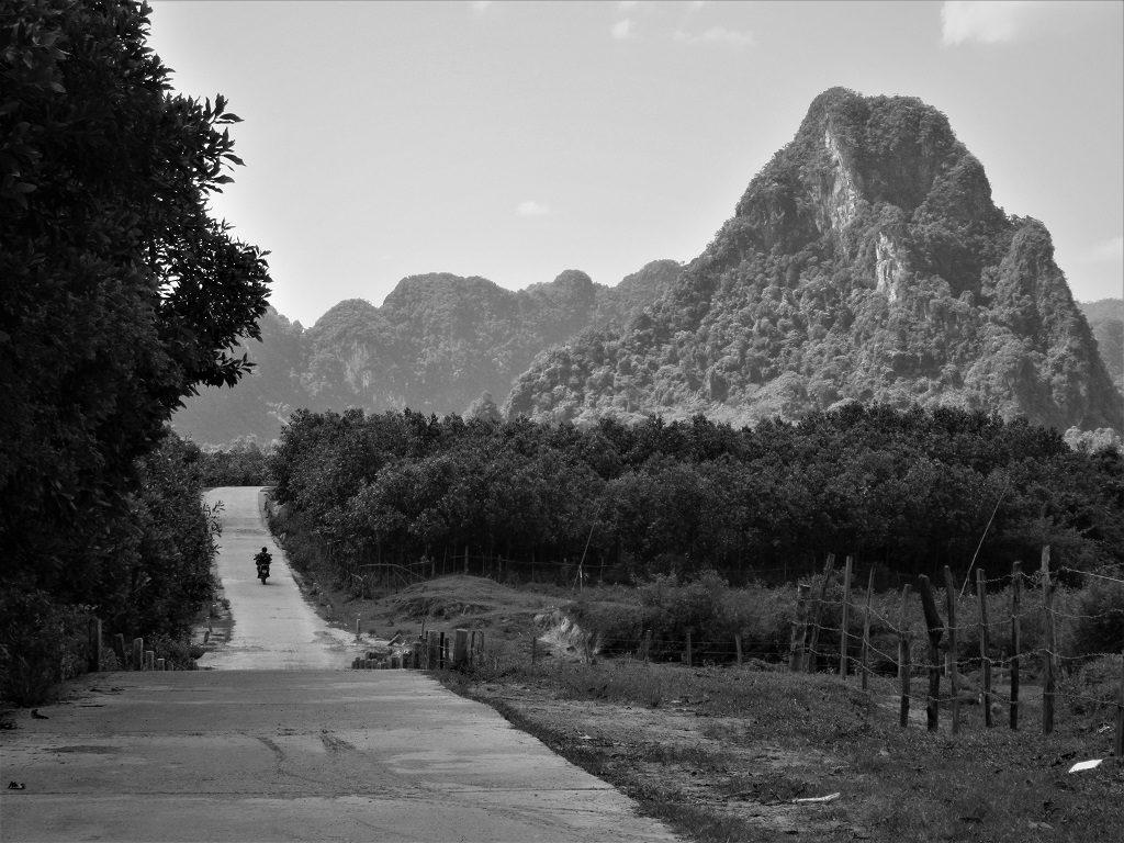 Riding the back-roads, Quang Binh, Vietnam