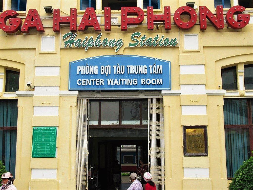 Haiphong Railway Station, Vietnam