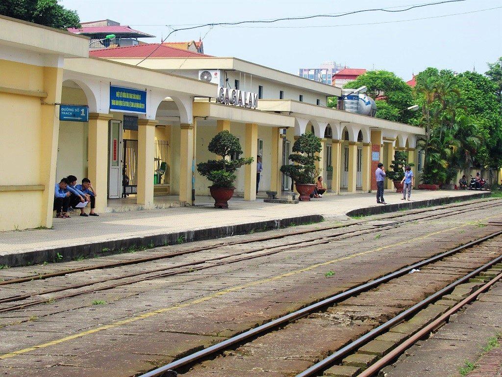 Gia Lam Railway Station, Hanoi, Vietnam