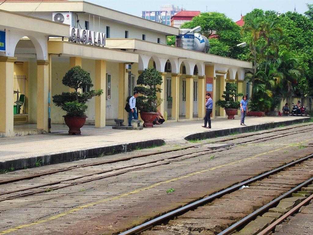 Gia Lam train station, Hanoi, Vietnam