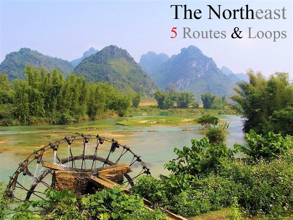 The Northeast by Motorbike: 5 Routes & Loops, Vietnam